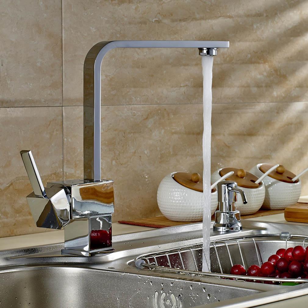 Küchenspüle Mischbatterie Wasserhahn Küche Bad Armatur Küchenarmatur ...