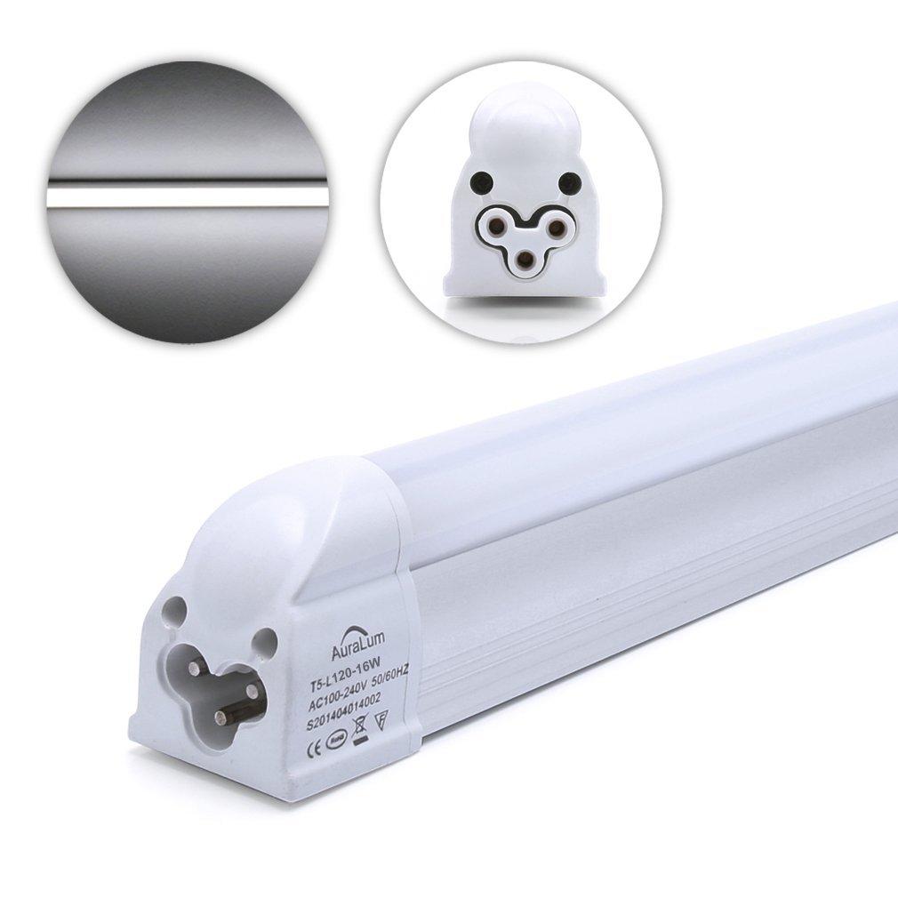 Auralum T5 Led Leuchtstoffrohre Tubes 120cm Rohrenlampe Cool Weiss 2